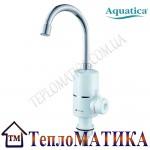 Кран-водонагреватель проточный для кухни гусак ухо на гайке AQUATICA NZ-6B112W