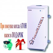 Котел ATON Atmo АОГВ 10 EBM напольный дымоходный газовый