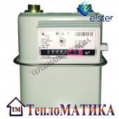 Счетчик газа мембранный Elster BK G-1,6 T с термокомпенсатором (диафрагменный).