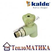 Кран радиаторный угловой 20х1/2 Kalde (КБУ)