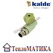 Кран радиаторный прямой 20х1/2 Kalde (КБП)