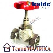 """Вентиль (клапан) запорный 1"""" Kalde"""
