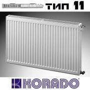 Радиатор стальной KORADO 11 500x1000 (пр-во Чехия, 11 тип, высота 500 мм, бок)