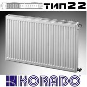 Радиатор стальной KORADO 22 500x600 (пр-во Чехия, 22 тип, высота 500 мм, бок)