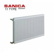 Радиатор стальной SANICA 11 300x1000 (пр-во Турция, 11 тип, высота 300 мм)