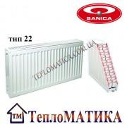 Радиатор стальной SANICA 22 500x2200 (пр-во Турция, 22 тип, высота 500 мм)