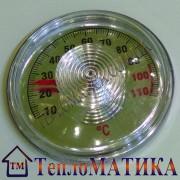 Биметаллический термометр круглый 56 мм