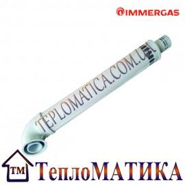 Труба коаксиальная Immergas 60/100 1м (коаксиальный дымоход для газового котла)