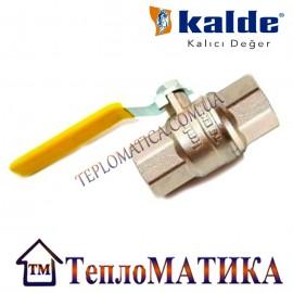 Кран шаровый для газа 3/4 ВВ Kalde (ручка)