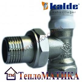 Радиаторный кран угловой 1/2 Kalde (нижний)