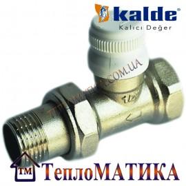 Радиаторный кран прямой 1/2 Kalde (нижний)