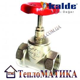 Вентиль (клапан) запорный 1/2 Kalde