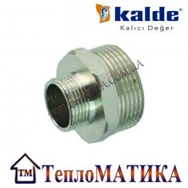 Ниппель переходной никелированный 1 1/2х1 Kalde