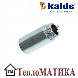 Резьбовой хромированный удлинитель НВ 1/2 20mm Kalde