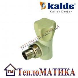 Вентиль радиаторный угловой 20х1/2 Kalde