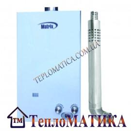 Газовая колонка Matrix JSD 20 Турбо+труба
