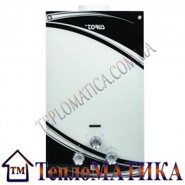 Газовая колонка TORUS JSD20-EGB (белое стекло)
