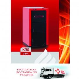 Котел ATON TTK MULTI 12 кВт твердотопливный напольный стальной