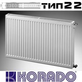 Радиатор стальной KORADO 22 500x500 (пр-во Чехия, 22 тип, высота 500 мм, бок)