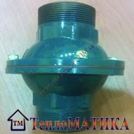 """Обратный клапан 2"""" отопления (с шариком) 90° C"""