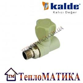 Вентиль радиаторный прямой 20х1/2 Kalde