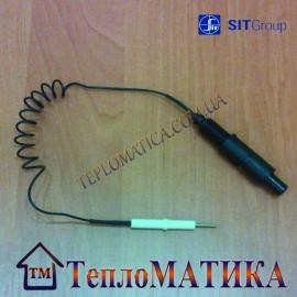 Соединительный кабель электрода и пьезоэлемента