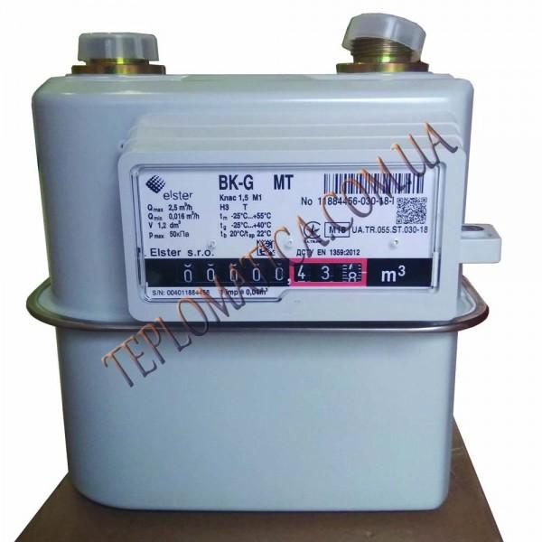 Газовый счетчик Elster ВК G2,5 МТ