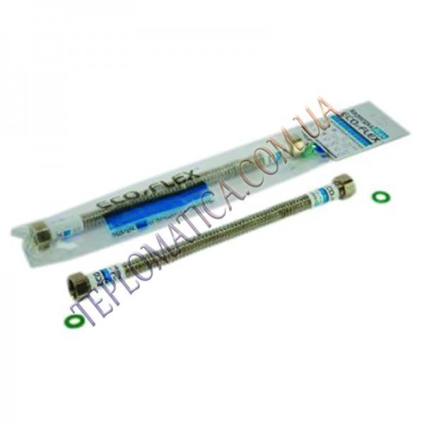 Шланг для воды ECO- FLEX НЖ 3/4 120 см  ВВ из нержавейки гофрированный