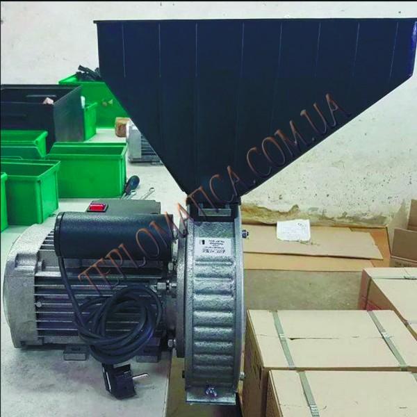 Зернодробилка ГАЗДА Р80 роторная (зерно пшеницы, ржи, ячменя) 2,5 кВт