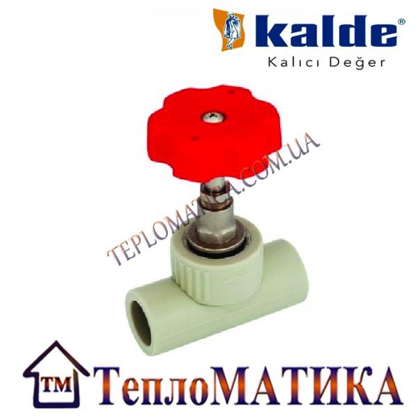 Прямоточный вентиль 32 (ромашка) Kalde