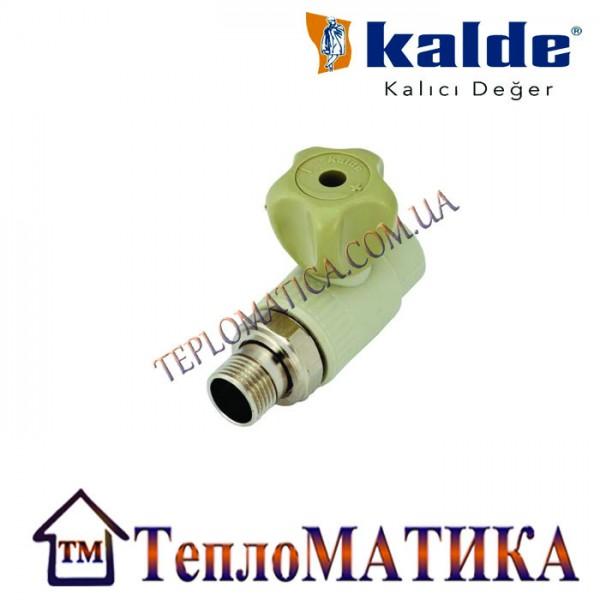 Кран радиаторный прямой 20х3/4 Kalde (КБП)