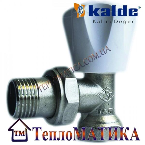 Радиаторный кран угловой 3/4 Kalde (верхний)