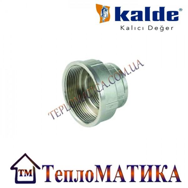 Муфта редукционная 3/4х1/2 внутренняя резьба Kalde
