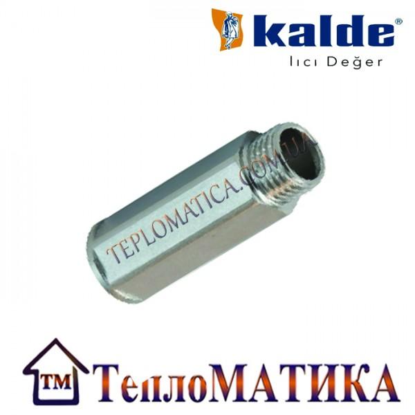 Резьбовой удлинитель НВ 1/2 15mm Kalde (шестигранный)