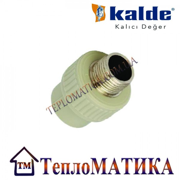 Муфта с наружной резьбой (МРН) 50х6/4 Kalde (12) (1½)