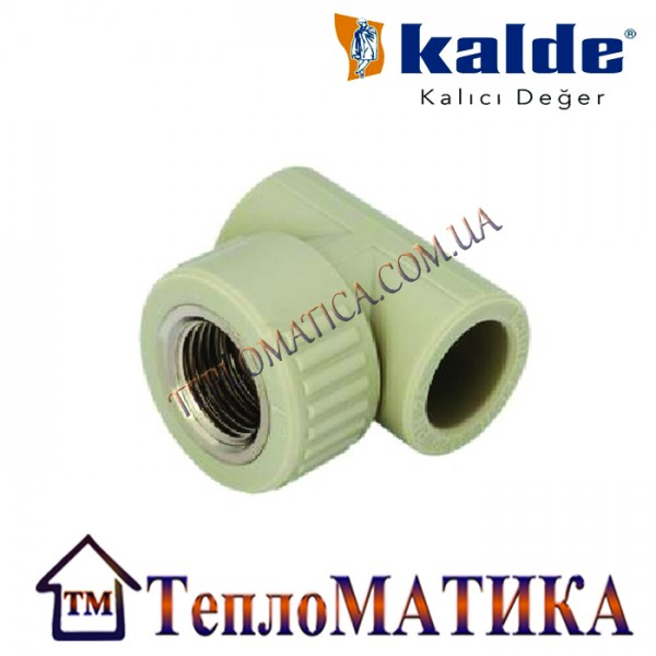 Тройник комбинированный с внутренней резьбой 20х1/2 Kalde