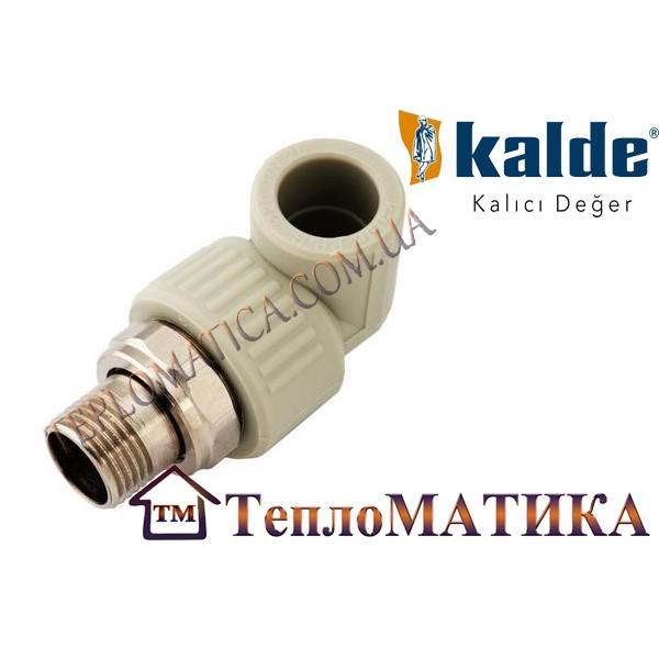 Угол разборной радиаторный D 20*1/2 Kalde