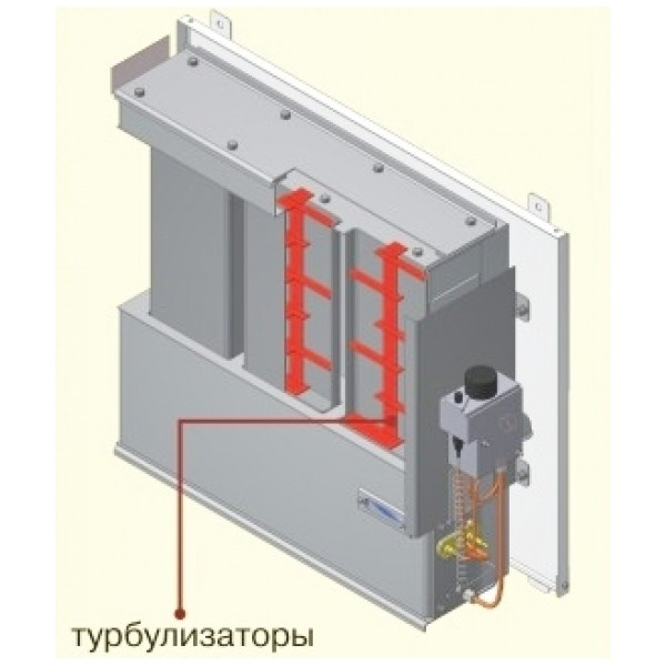 Газовый конвектор Атем Житомир-5 КНС-3