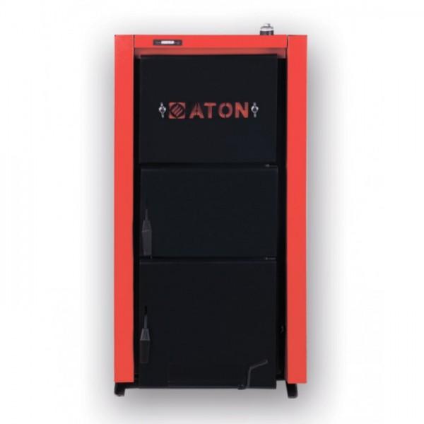Котел ATON TTK MULTI 38 кВт твердотопливный напольный стальной
