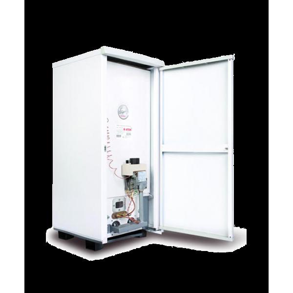 Котел ATON Atmo АОГВ 10 EM напольный дымоходный газовый