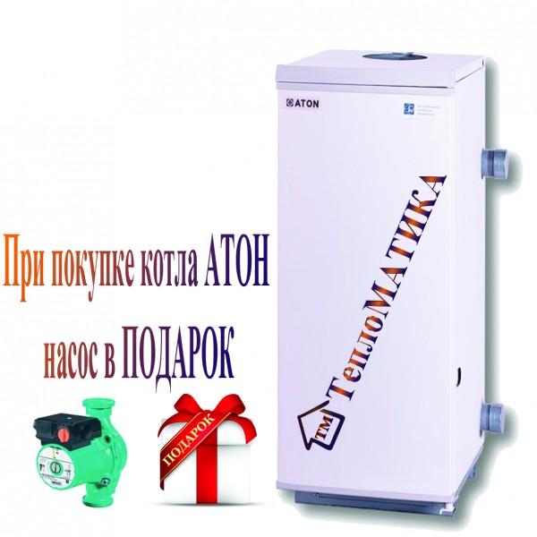 Котел ATON Atmo АОГВ 8 EM напольный дымоходный газовый
