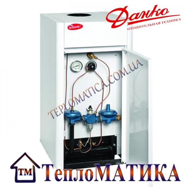 Котел Данко 15 газовый, напольный, двухконтурный.