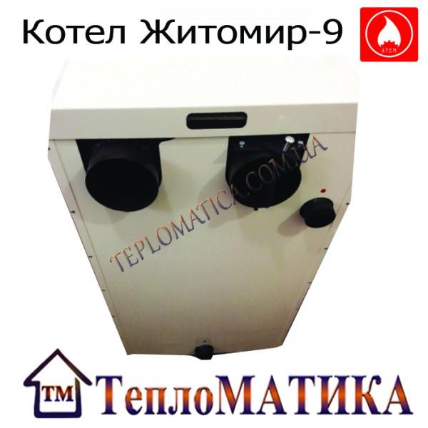 Комбинированный котел АТЕМ Житомир-9 КС-Г 20сн/ АОТВ 15
