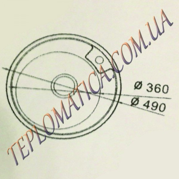 Кухонная мойка MIRA MR 490 +сифон (врезная, Polish 0,8 мм)