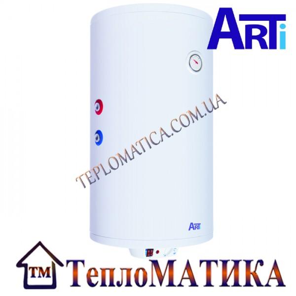 Бойлер косвенного нагрева ARTi WH Comby DRY 100L/2 комбинированный (Македония) с сухим ТЭНом