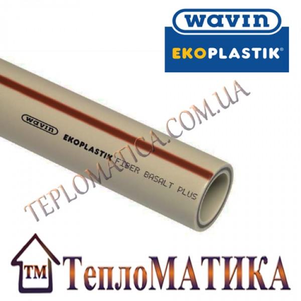 Труба полипропиленовая Wavin ekoplastik Fiber Basalt Plus D20 PN20