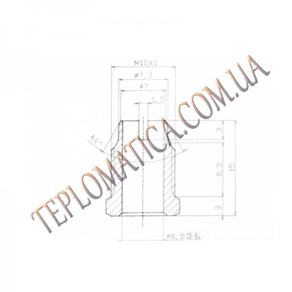 Гайка термопары М10 0.974.036